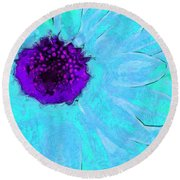 Daisy In Disguise Round Beach Towel