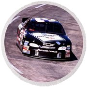 Dale Earnhardt # 3 Goodwrench Chrvrolet 1999 At Martinsville Round Beach Towel