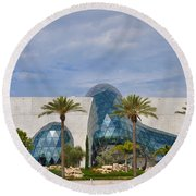 Dali Museum Round Beach Towel by Bill Cannon