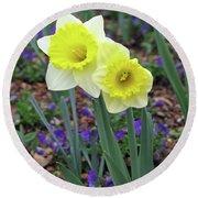 Dallas Daffodils 78 Round Beach Towel