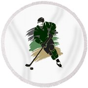Dallas Stars Player Shirt Round Beach Towel