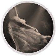 Dance Of The Ghost Round Beach Towel