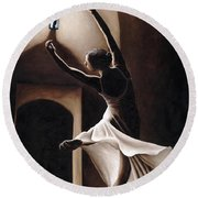 Dance Seclusion Round Beach Towel