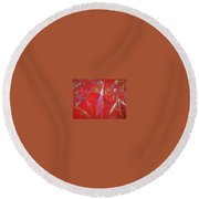 Dance Step Round Beach Towel