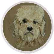 Dandie Round Beach Towel