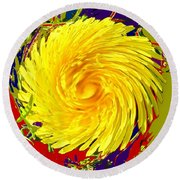 Dandy Three Round Beach Towel