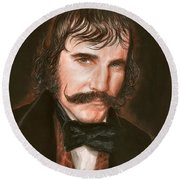 Daniel Day Round Beach Towel