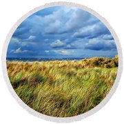 Danish Landscape Round Beach Towel