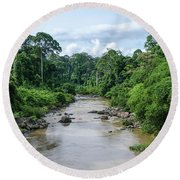 Danum Valley Round Beach Towel