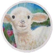 Daphne Star's Ears.   Flying Lamb Productions  Round Beach Towel