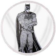 Dark Knight Round Beach Towel