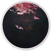 Dark Serie, IIi Round Beach Towel by Daniel Hannih