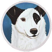 Date With Paint Feb 19 Boh Round Beach Towel