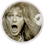 David Lee Roth Collection Round Beach Towel