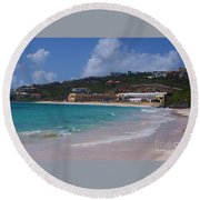 Dawn Beach Round Beach Towel