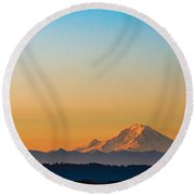 Dawn Breaks Round Beach Towel