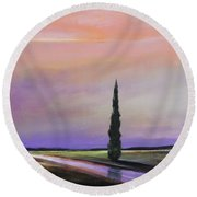 Dawn Of A New Day Round Beach Towel