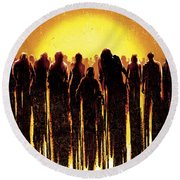 Dawn Of The Dead 2004 Round Beach Towel