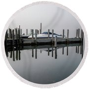 Dawn's Early Light Round Beach Towel