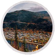 Dawson City - Yukon Round Beach Towel