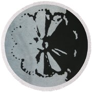 Day And Night II Round Beach Towel