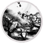 Deadwood Round Beach Towel