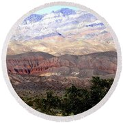 Death Valley 1 Round Beach Towel