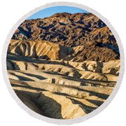 Death Valley 19 Round Beach Towel