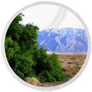 Death Valley 2 Round Beach Towel