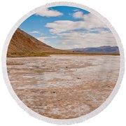 Death Valley 20 Round Beach Towel
