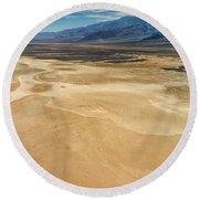 Death Valley 6 Round Beach Towel