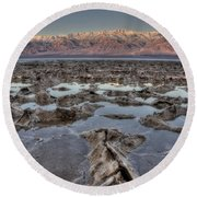 Death Valley 7 Round Beach Towel