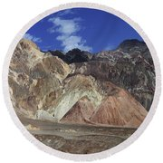 Death Valley 8 Round Beach Towel