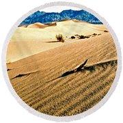 Death Valley National Park Round Beach Towel