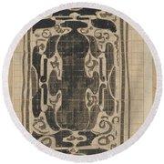 Decorative Design, Carel Adolph Lion Cachet, 1874 - 1945 Round Beach Towel