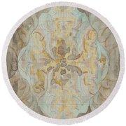 Decorative Design, Carel Adolph Lion Cachet, 1874 - 1945 Vs Round Beach Towel