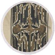 Decorative Design, Carel Adolph Lion Cachet, 1874 - 1945 Y Round Beach Towel