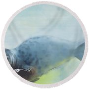 Deep Round Beach Towel