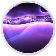 Deep Space Round Beach Towel