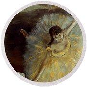 Degas: Arabesque, 1876-77 Round Beach Towel