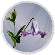 Delicate Bell Round Beach Towel