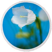 Delicate Bells Round Beach Towel