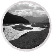 Denali National Park 5 Round Beach Towel