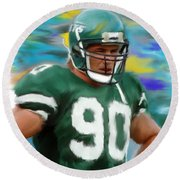 Dennis Byrd Round Beach Towel