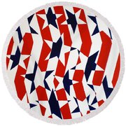 Dennis Conner II Round Beach Towel
