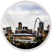 Denver Round Beach Towel