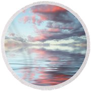 Depth Round Beach Towel
