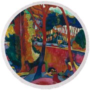 Derain: Lestaque, Round Beach Towel