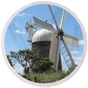Derbyshire Windmill Round Beach Towel