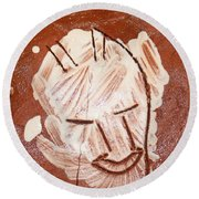 Derek - Tile Round Beach Towel